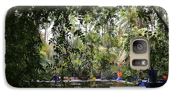 Galaxy Case featuring the photograph Jardin Majorelle 2 by Andrew Fare
