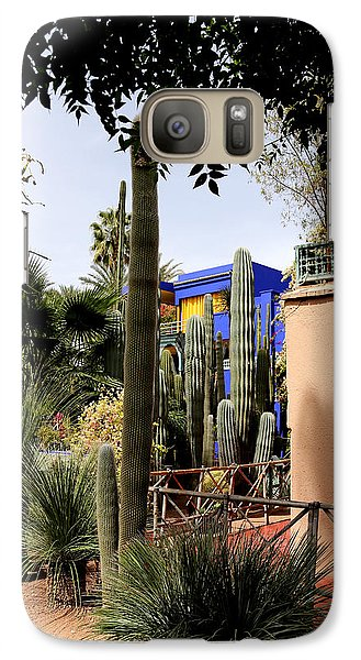 Galaxy Case featuring the photograph Jardin Majorelle 4 by Andrew Fare