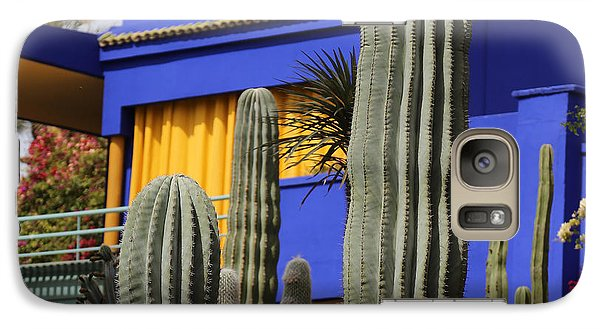 Galaxy Case featuring the photograph Jardin Majorelle 5 by Andrew Fare