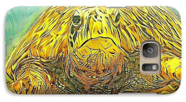 Galaxy Case featuring the digital art Jasmine The Turtle by Erika Swartzkopf