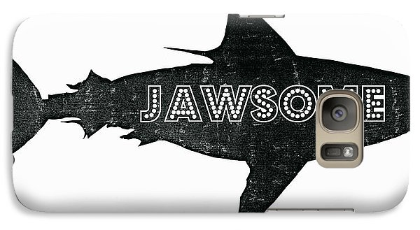 Jawsome Galaxy Case by Michelle Calkins