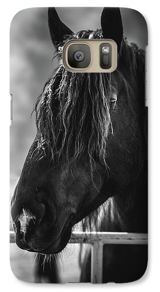 Galaxy Case featuring the photograph Jay The Rasta Horse by Debby Herold