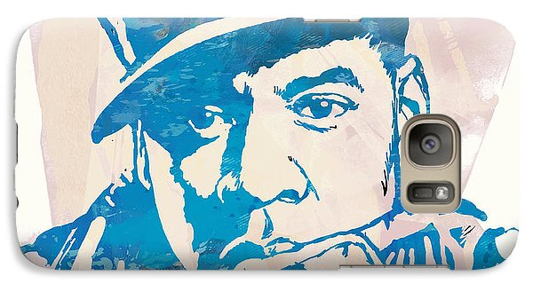 Jay-z  Etching Pop Art Poster Galaxy S7 Case