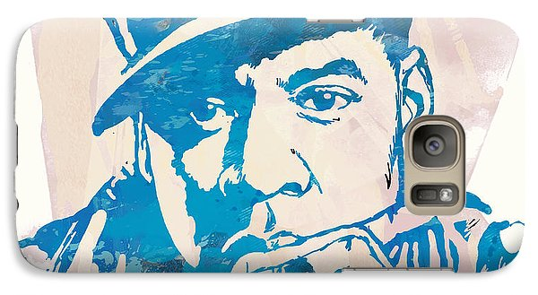 Jay-z  Etching Pop Art Poster Galaxy Case by Kim Wang