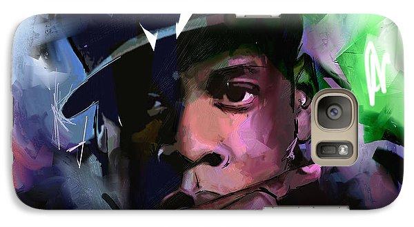 Jay Z Galaxy S7 Case - Jay Z by Richard Day