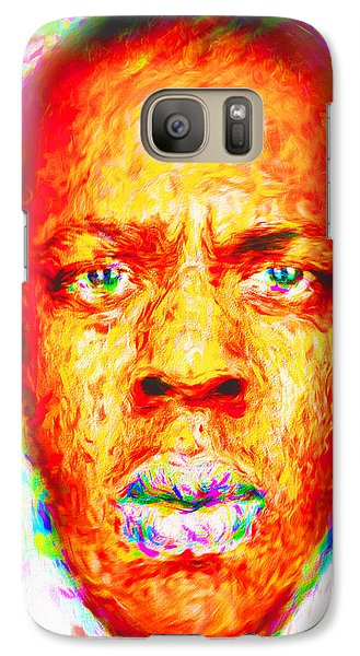 Jay-z Shawn Carter Digitally Painted Galaxy S7 Case