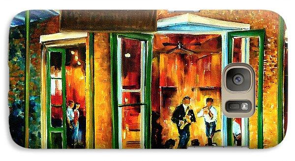 Jazz Galaxy S7 Case - Jazz At The Maison Bourbon by Diane Millsap