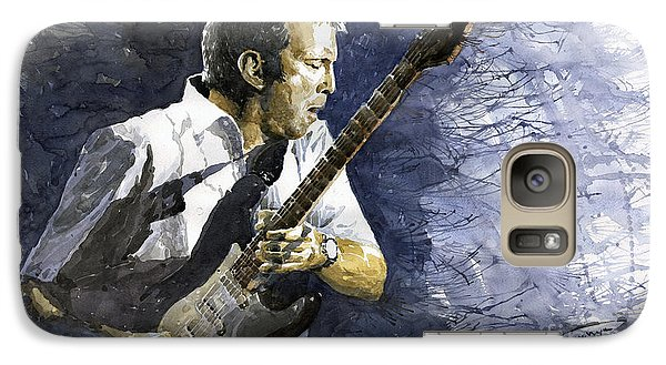 Jazz Eric Clapton 1 Galaxy S7 Case by Yuriy  Shevchuk