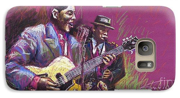 Jazz Guitarist Duet Galaxy S7 Case