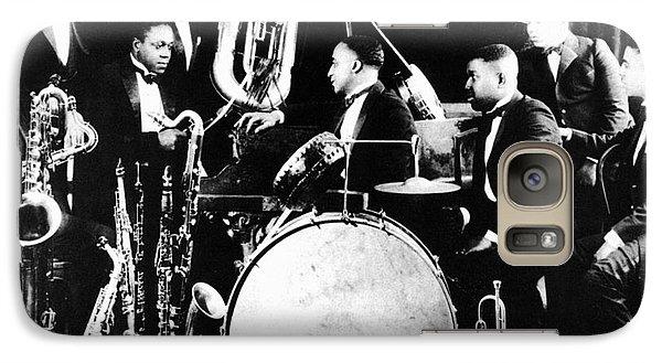 Harlem Galaxy S7 Case - Jazz Musicians, C1925 by Granger