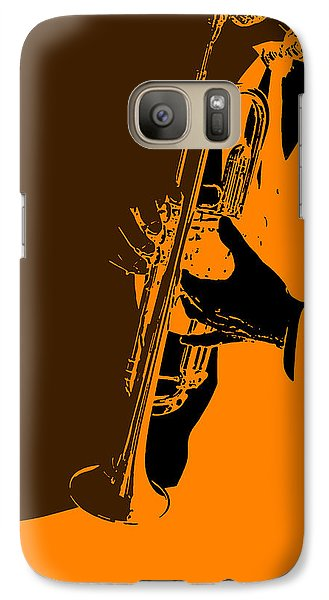 Saxophone Galaxy S7 Case - Jazz by Naxart Studio