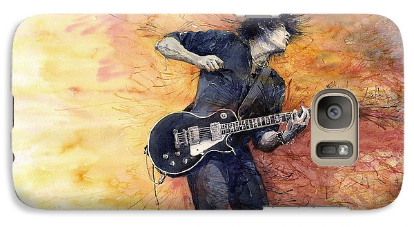 Galaxy S7 Case - Jazz Rock Guitarist Stone Temple Pilots by Yuriy Shevchuk
