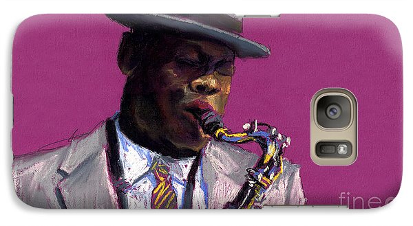Jazz Saxophonist Galaxy S7 Case