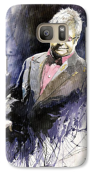 Jazz Galaxy S7 Case - Jazz Sir Elton John by Yuriy Shevchuk