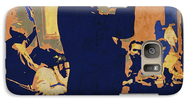 Trumpet Galaxy S7 Case - Jazz Trumpet Player by Pablo Franchi