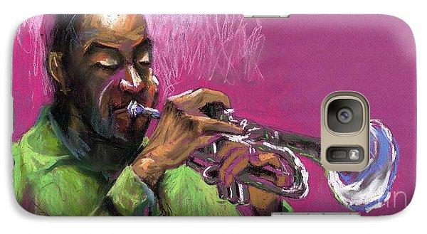 Jazz Trumpeter Galaxy S7 Case
