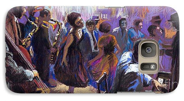 Jazz Galaxy Case by Yuriy  Shevchuk