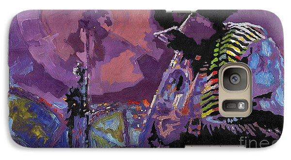 Trumpet Galaxy S7 Case - Jazz.miles Davis.4. by Yuriy Shevchuk