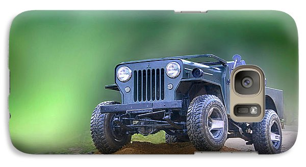 Galaxy Case featuring the photograph Jeep by Charuhas Images