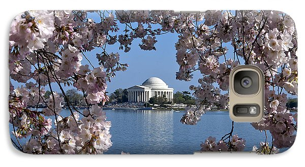 Jefferson Memorial On The Tidal Basin Ds051 Galaxy Case by Gerry Gantt