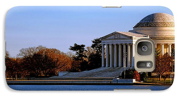 Jefferson Memorial Sunset Galaxy Case by Olivier Le Queinec