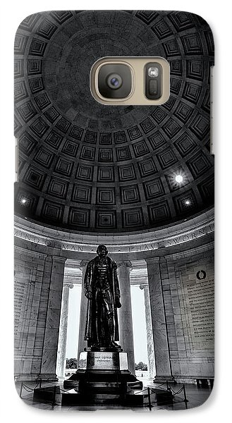 Jefferson Statue In The Memorial Galaxy Case by Andrew Soundarajan