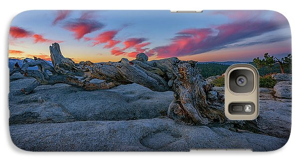 Galaxy Case featuring the photograph Jeffrey Pine Dawn by Rick Berk
