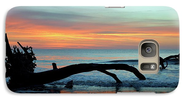 Galaxy Case featuring the photograph Jekyll Island Sunrise 2016a by Bruce Gourley