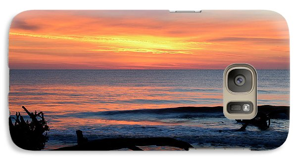 Galaxy Case featuring the photograph Jekyll Island Sunrise 2016b by Bruce Gourley