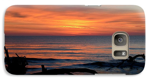 Galaxy Case featuring the photograph Jekyll Island Sunrise 2016c by Bruce Gourley