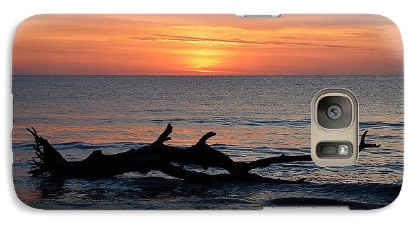 Galaxy Case featuring the photograph Jekyll Island Sunrise 2016d by Bruce Gourley