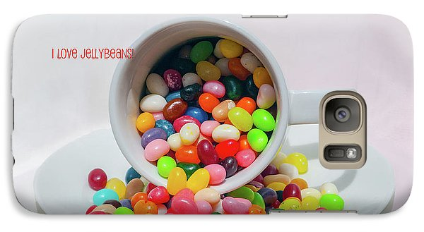 Galaxy Case featuring the photograph Jelly Beans by Carolyn Dalessandro