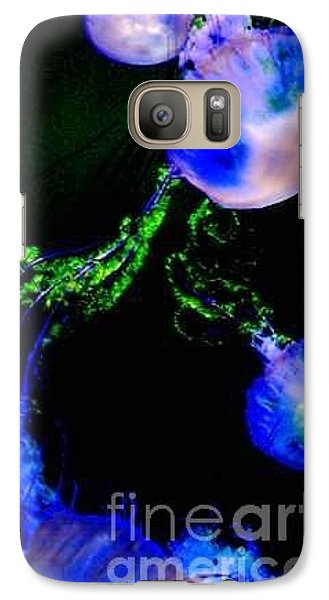 Galaxy Case featuring the photograph Jellylights by Vanessa Palomino