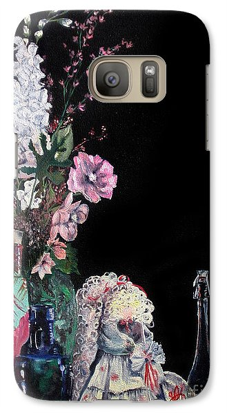 Galaxy Case featuring the painting Jenibelle by Jane Autry