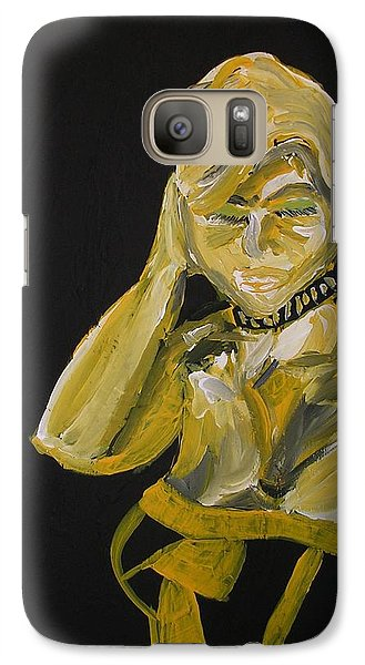 Galaxy Case featuring the painting Jennifer by Joshua Redman