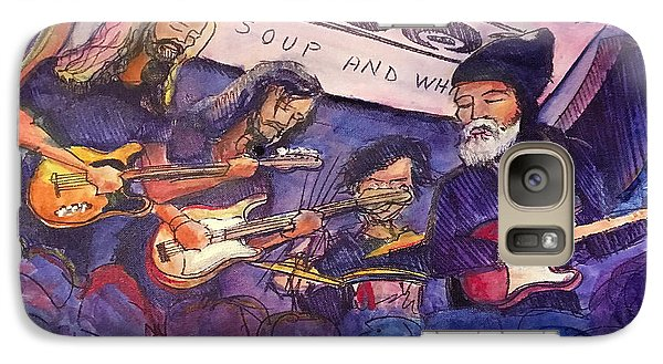 Galaxy Case featuring the painting Jerry Joseph And The Jackmormons by David Sockrider