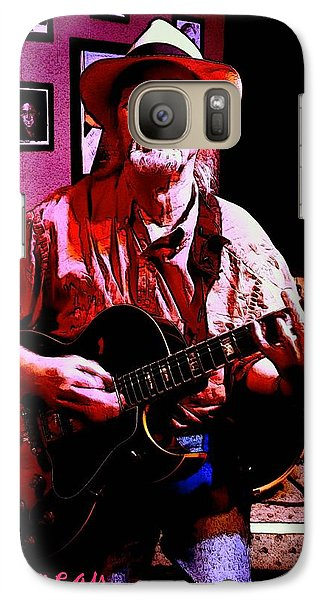 Galaxy Case featuring the photograph Jerry Miller - Moby Grape Man 1 by Sadie Reneau