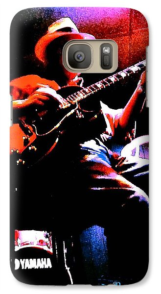 Galaxy Case featuring the photograph Jerry Miller - Moby Grape Man 2 by Sadie Reneau