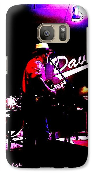 Galaxy Case featuring the photograph Jerry Miller - Moby Grape Man 3 by Sadie Reneau