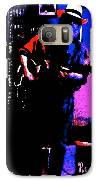 Galaxy Case featuring the photograph Jerry Miller - Moby Grape Man 4 by Sadie Reneau