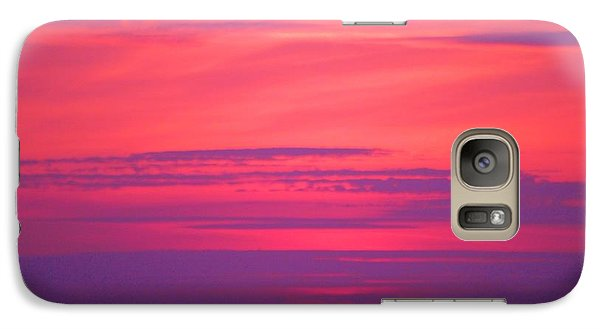 Galaxy Case featuring the photograph Jersey Sunset by Susan Carella