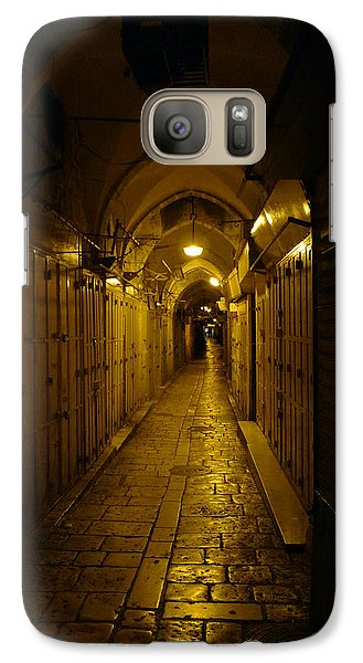 Galaxy Case featuring the photograph Jerusalem Of Copper 1 by Dubi Roman