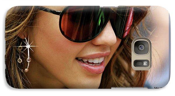 Jessica Alba, Cool Shades Galaxy S7 Case