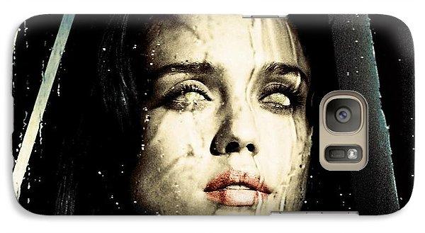 Jessica Alba Dark Horror Galaxy S7 Case