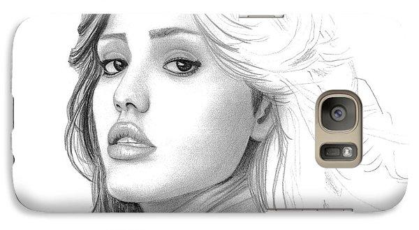 Jessica Alba Galaxy S7 Case
