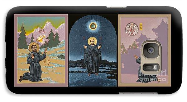 Jesuit Triptych-st Peter Faber-st Ignatius-st Francis Xavier Galaxy S7 Case