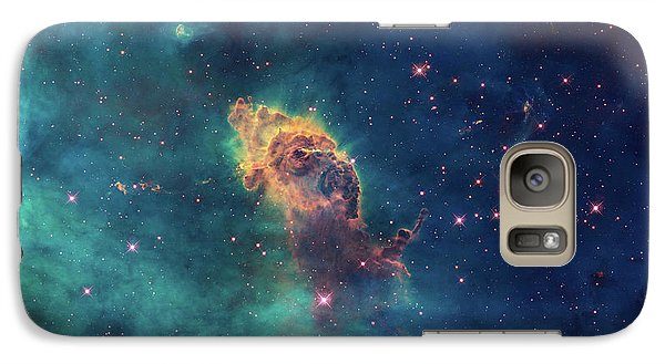 Galaxy Case featuring the photograph Jet In Carina by Marco Oliveira