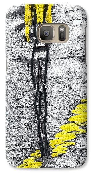 Galaxy Case featuring the photograph Jill. An Angel by Viktor Savchenko