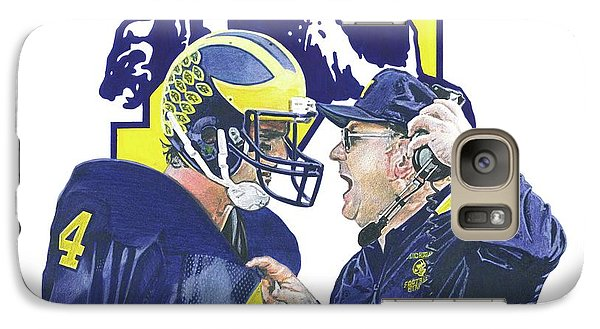 Jim Harbaugh And Bo Schembechler Galaxy S7 Case