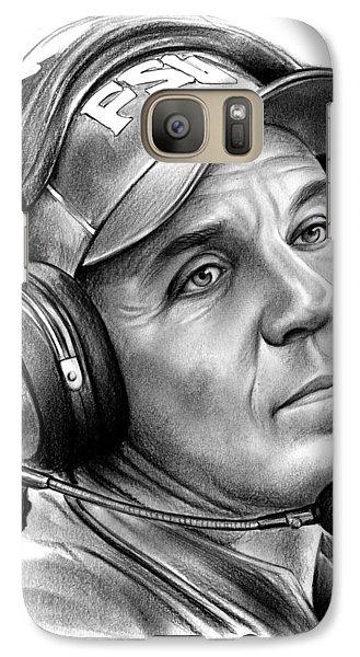 Jimbo Fisher Galaxy S7 Case by Greg Joens